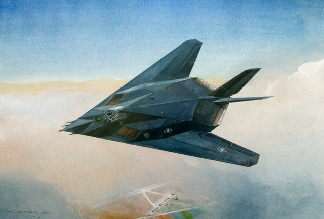 Lockheed F117 paint dd